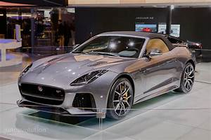 Jaguar F Type Cabriolet : jaguar f type svr coupe and convertible show the true power of the v8 in geneva autoevolution ~ Medecine-chirurgie-esthetiques.com Avis de Voitures