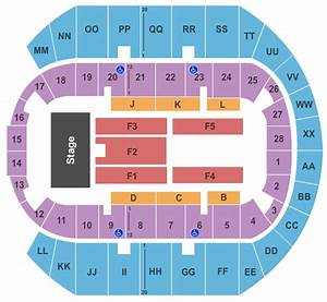 Cajundome Seating Chart Wwe Mississippi Coast Coliseum Tickets Mississippi Coast
