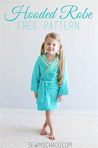 hooded robe free pattern sew much ado With robe guess 2017