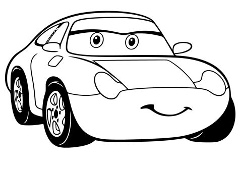 Cars Kleurplaat 3 by Cars 3 Kleurplaat