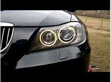 How to change or modify side lights on BMW E90 YouTube