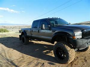 2002 F250 7 3l Crew Cab  Long Bed  Lifted