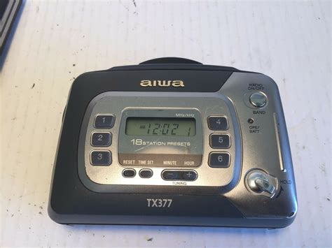 Aiwa Cassette Player by Aiwa Hs Tx377 Portable Cassette Player Am Fm Stereo Radio