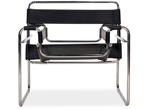 Stuhl Marcel Breuer by Wassily Chair By Marcel Breuer Platinum Replica