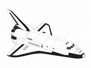 Space Shuttle Black And White | www.pixshark.com - Images ...