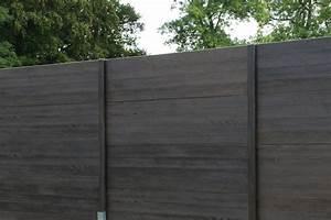 Cloture Beton Imitation Bois : devis cl ture en b ton mon ~ Dailycaller-alerts.com Idées de Décoration