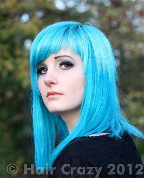 Turquoise Hair Photos