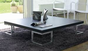 Table Basse Grande Taille : grande table basse design acheter table basse id e pour ~ Teatrodelosmanantiales.com Idées de Décoration