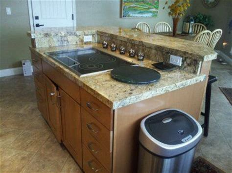 how to design a kitchen renovation island cooktop and backsplash detail t j project 8618