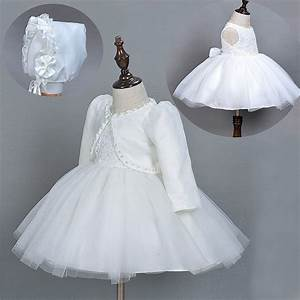 1 year old baby girl dress beige princess wedding birthday With baby dresses for weddings