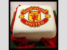 Manchester United Cake 100% Edible Vanilla sponge