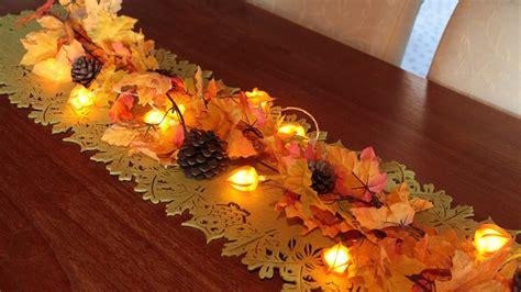 Herbstliche Tischdeko Selbermachen by Herbstliche Tischdekoration
