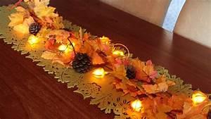 Tischdeko Selber Machen Herbst : herbstliche tischdekoration youtube ~ Orissabook.com Haus und Dekorationen