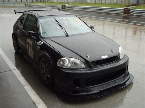 Ek9 Race Car Project Nearing
