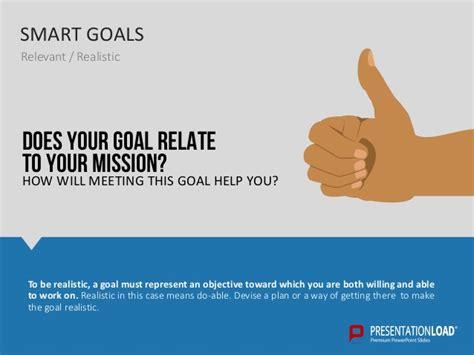 smart goals powerpoint templates