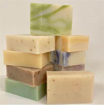 Soap Handmade Natural Bars Bulk Unwrapped Includes