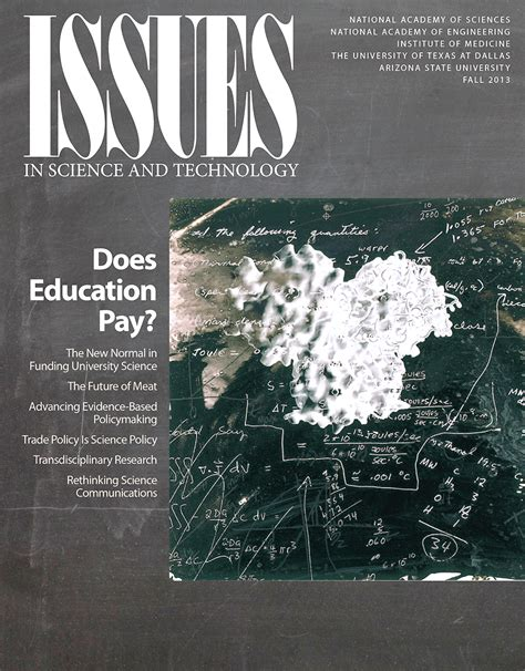 Issues in Science and Technology Looks at Whether College ...