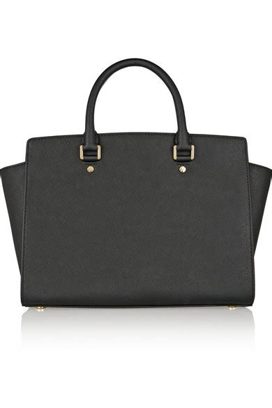 michael michael kors selma large textured leather tote net a porter