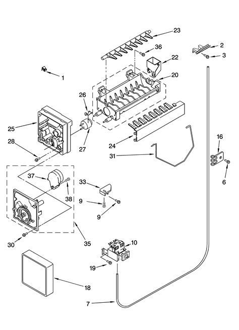 Kenmore Dryer Wiring Harnes Diagram by Kenmore 106 Refrigerator Parts Diagram Within Diagram