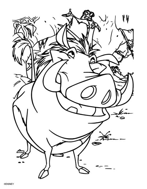 Lion King Coloring Pages 2016- Dr. Odd | Lion coloring pages