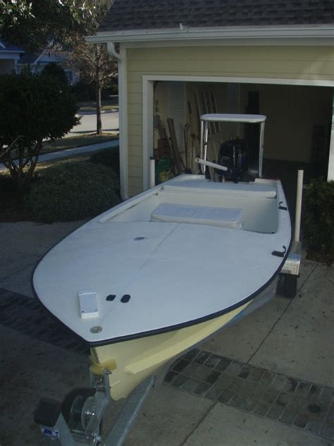 Skiff Boat Molds For Sale by Original Challenger Flats Skiff Sold The Hull