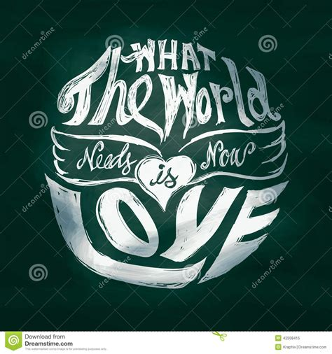 world    love lettering art  circle