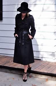 Love maegan blogger belt sunglasses coat flats felt hat - Wheretoget