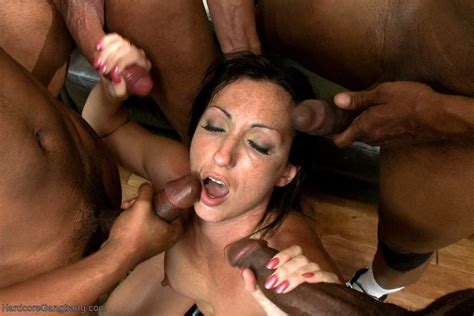 Hardcore Interracial Gangbang Dp Intense Anal Pussy Cream