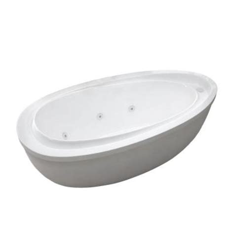 jetted bathtubs home depot universal tubs mystic 5 9 ft jetted whirlpool tub with