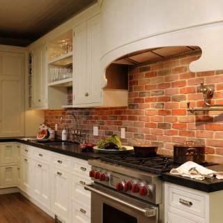 exposed brick kitchen backsplash exposed brick kitchen