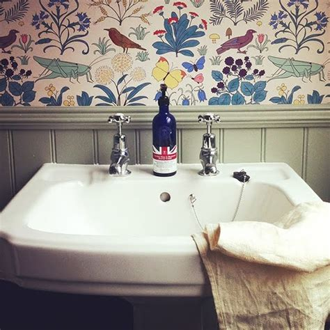 Scouting Wallpaper In Bathrooms — Design Scouting