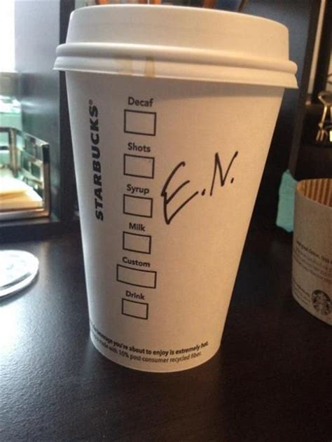 Give this brightly covered beverage a try! Starbucks Knows Coffee. Spelling And Names, Not So Much - 20 Pics
