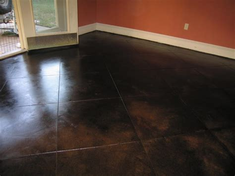Dark Stained Concrete Floors, Photos of ideas in 2018