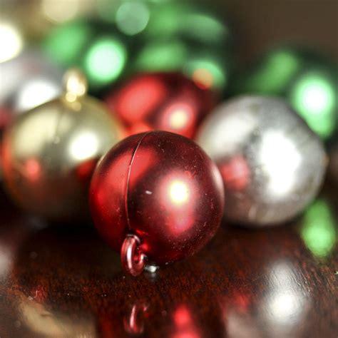 miniature christmas ball ornaments christmas ornaments christmas and winter holiday crafts