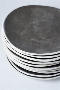 Teller Set Grau : geschirr grau matt m bel design idee f r sie ~ Michelbontemps.com Haus und Dekorationen