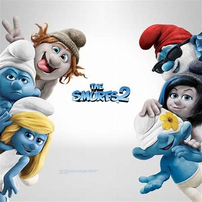 Smurfs Characters Wallpapers Background Smurfette Cartoon Character