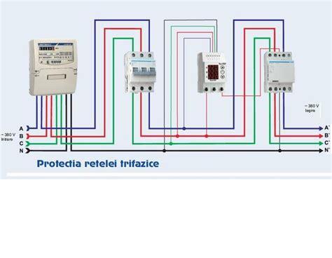 Legare Motor Monofazic by Releu De Protectie Tensiunemateriale Electrice