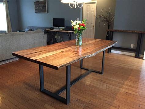 ambrosia maple  edge dining table  heaton design