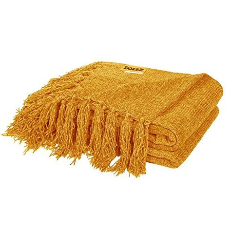 sashi fringed table throw dozzz decorative throw sofa couch chenille throw blanket