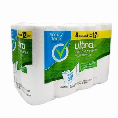 Paper Towels Done Simply Rolls Ultra Giant