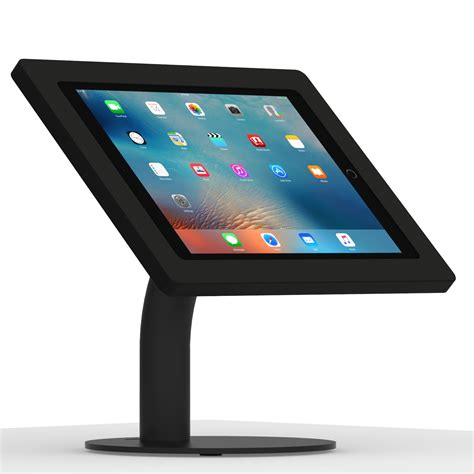ipad pro desk stand 12 9 inch ipad pro black enclosure w portable fixed vesa