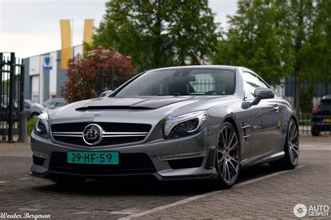 Бесподобный g800 ibusiness (w463) автолюбители узрели в 2014 г. Mercedes-Benz Brabus 850 Roadster - 28 juillet 2015 - Autogespot