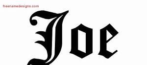 joe Archives - Free Name Designs
