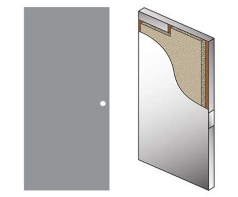 hollow metal door heavy duty steel door