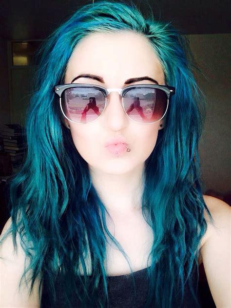 17 Best Ideas About Short Teal Hair On Pinterest Short