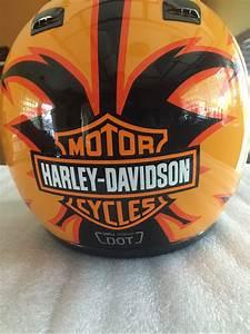 Harley Davidson Screaming Eagle Large Full Face Helmet