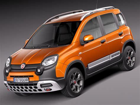 Fiat 2014 Models by 3d 2014 Fiat Panda Model