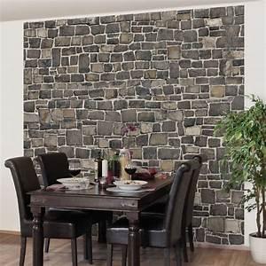 Vliestapete Für Küche : steintapete grau k che ~ Michelbontemps.com Haus und Dekorationen