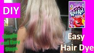 TESTING KOOL AID HAIR DYE DIY GRAPE FLAVOR FOR PURPLE