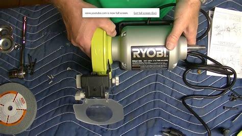 Polishing Wheel For Bench Grinder by Ryobi Bench Grinder Polishing Wheel Assembly